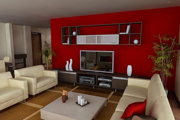 3D Interior Sala Comedor » Arquitectoscompy  Paraguay, Galería